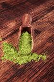 зеленый супер-пупер. — Стоковое фото