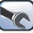 Wrench — Stock Vector