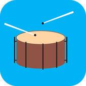 Drum — Stock Vector