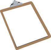 Clip board — Stock Vector