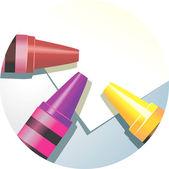 Art verktyg — Stockvektor