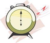 Reloj de péndulo — Vector de stock