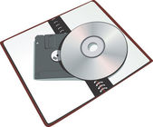 Compact disk — Stock Vector