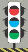 Traffic lights — Stock Vector