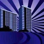 Multi-storey buildings — Stock Vector #31203667