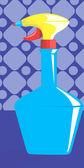 пульверизатор с жидкостью — Cтоковый вектор