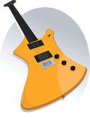 электрическая гитара — Cтоковый вектор