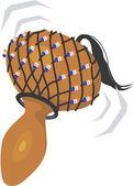 Chocalhos de cabaça — Vetorial Stock