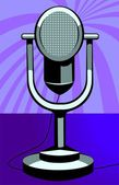Mikrofon kabel — Stockvektor