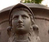 Bust of Athena — Stock Photo