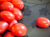 Plump Grape Tomatoes — Stock Photo
