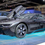 ������, ������: Bangkok April 2 : BMW series I8 innovation car