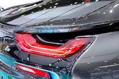 Tail light of BMW series I8 innovation ca — Stock Photo