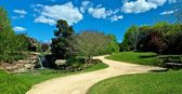 Trail in Hunter Valley Gardens — 图库照片