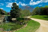 Trail in Hunter Valley Gardens — Stock Photo