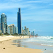 Surfers Paradise view, Gold Coast, — Stock Photo #43612345