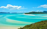 Whitehaven Beach view — Stock Photo