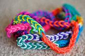 Loom bracelets — Stock Photo