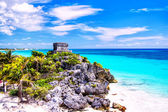 Temple of Tulum — Stock Photo
