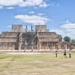 Archaeological site of Chichen Itza — Stock Photo