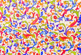 Colorful pattern on bumage.Foto. texture — Stock Photo