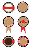 Set of badges — Stock Vector