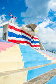 Stadium seat sport of thailand — Stock Photo