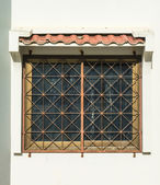 Old vintage window asian style — ストック写真