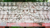 High relief sculpture tradition thai style — Foto Stock