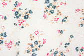 Flower textile pattern — Stock Photo
