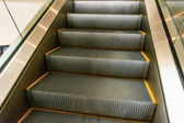 Escalator detail surface — 图库照片