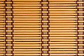 Brown tone bamboo blinds — Stock Photo