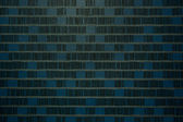 Blue tone fabric textile wall — Stock Photo