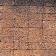 Laterite stone brick wall. — Stock Photo #30474905