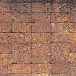 Laterite stone brick wall. — Stock Photo #30474953