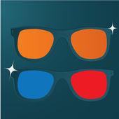 Vector Glasses Icon — Stock Vector