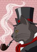 Mister Cat — Stock Vector