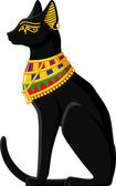 Egyptian Cat — Stock Vector