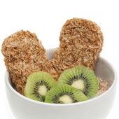 Zdrowe śniadanie na białym tle — Zdjęcie stockowe