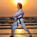 bojové sporty — Stock fotografie