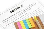 Business contract — Stock Photo