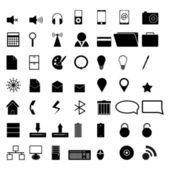49 Vector icons — Stock Vector