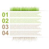 现代自然设计模板信息图形 — 图库矢量图片