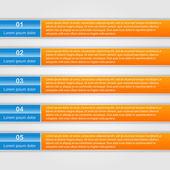 现代化的设计模板信息图。向量。eps10 — 图库矢量图片