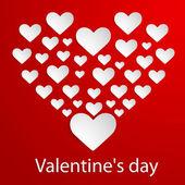 Valentines Day. Vector illustration. — Stock Vector