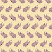 Seamless elephant baby pattern background. Vector illustration. — Stock Vector