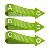 Moderne infographic. ontwerpelementen. — Stockvector