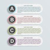 Moderne infographik. design-elemente — Stockvektor