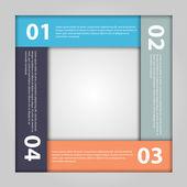 Modern infographic. Design elements. — Stok Vektör