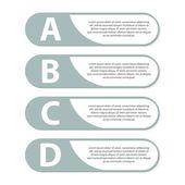 Modern infographic. Design elements. Vector illustration. — Stock Vector